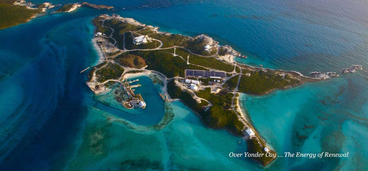 Overall view of Overyonder Cay